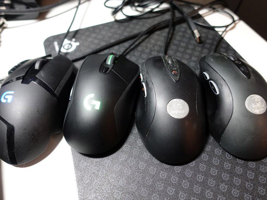 ロジクールG402、G403、MX518、G400