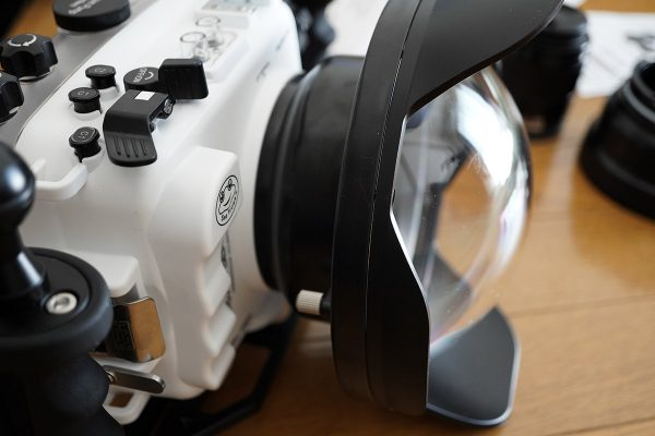 SeaFrogs Sony A6xxx series Salted Line housing(防水カメラハウジング2