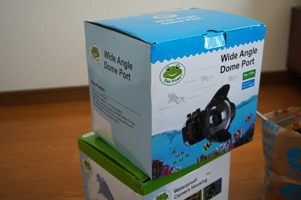 SeaFrogs Sony A6xxx series Salted Line housing(防水カメラハウジング5