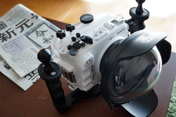 SeaFrogs Sony A6xxx series Salted Line housing(防水カメラハウジング7