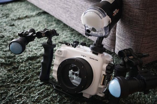 SeaFrogs Sony A6xxx series Salted Line housing 初ダイビング